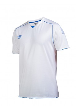 310215 Prodigy Team Cotton Tee (177) бело-сине-синий