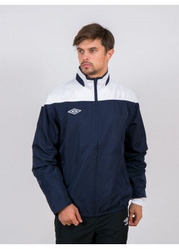 60718U A Training Woven Jacket (N84) тёмносине-белый